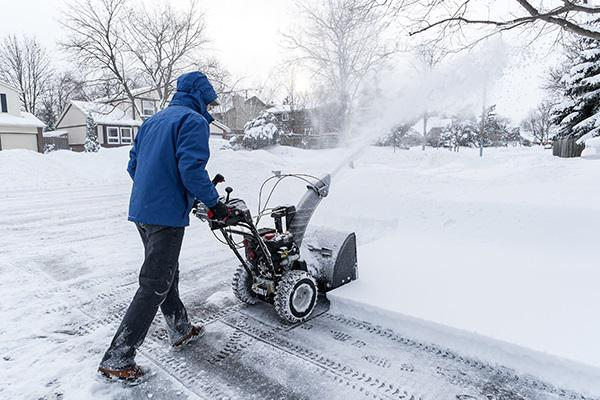 Snow plowing services for you