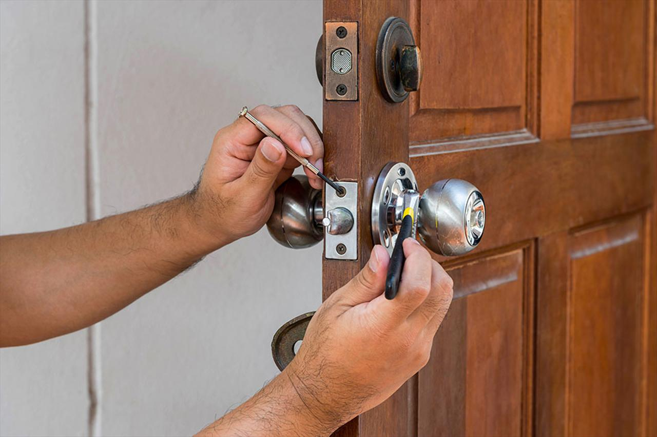 New Lock Installation