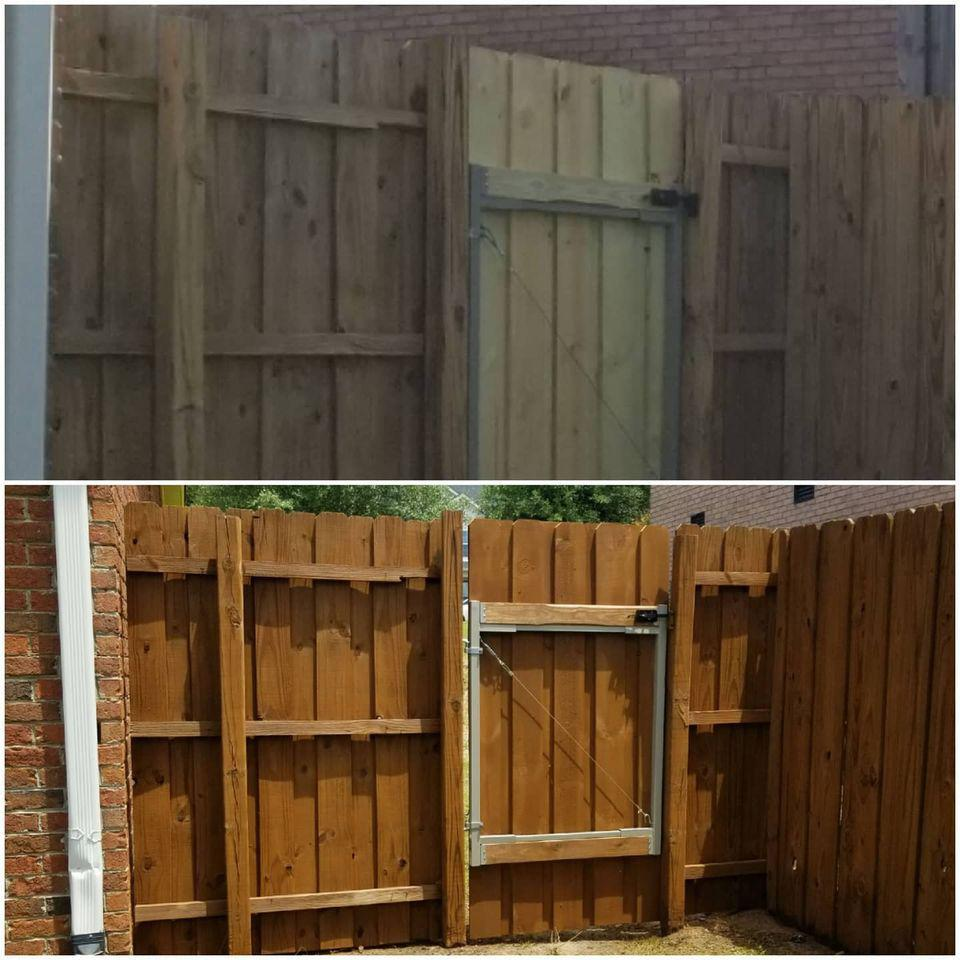 Fence Staining, Deck Staining and Restoration