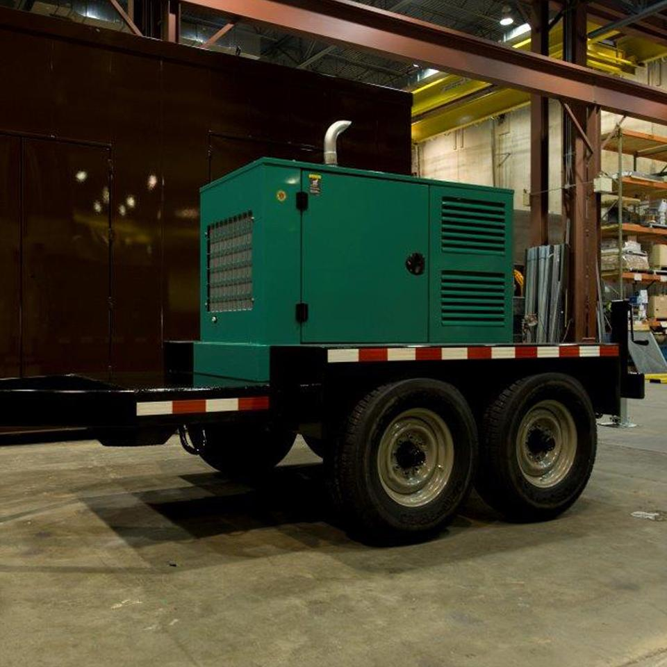 Generator Transport Trailers