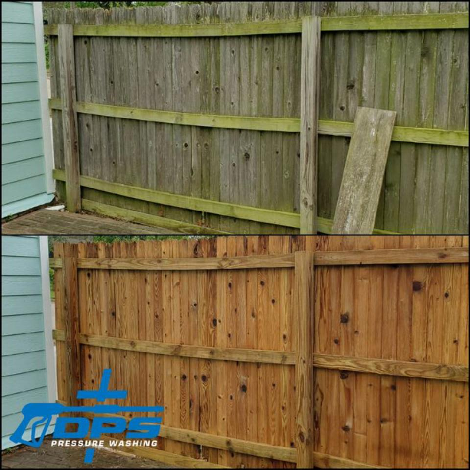 Fence, Deck, and WoodCleaning