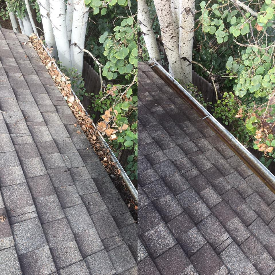 Gutter Cleaning & Brightening