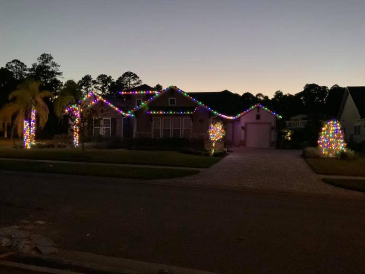 Outdoor Holiday Lighting