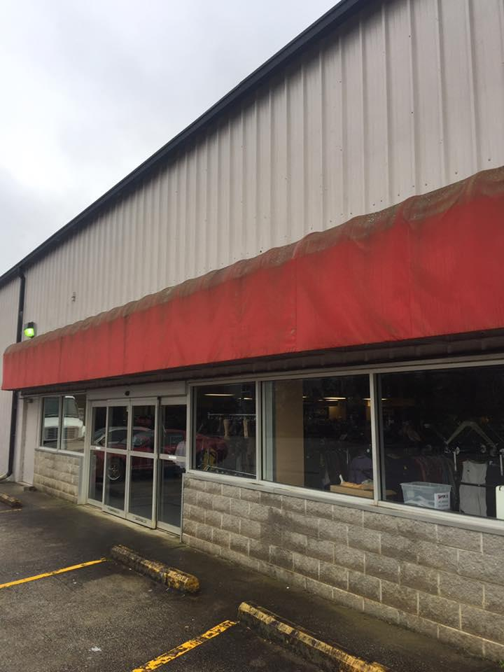 Soft Wash Building Washing