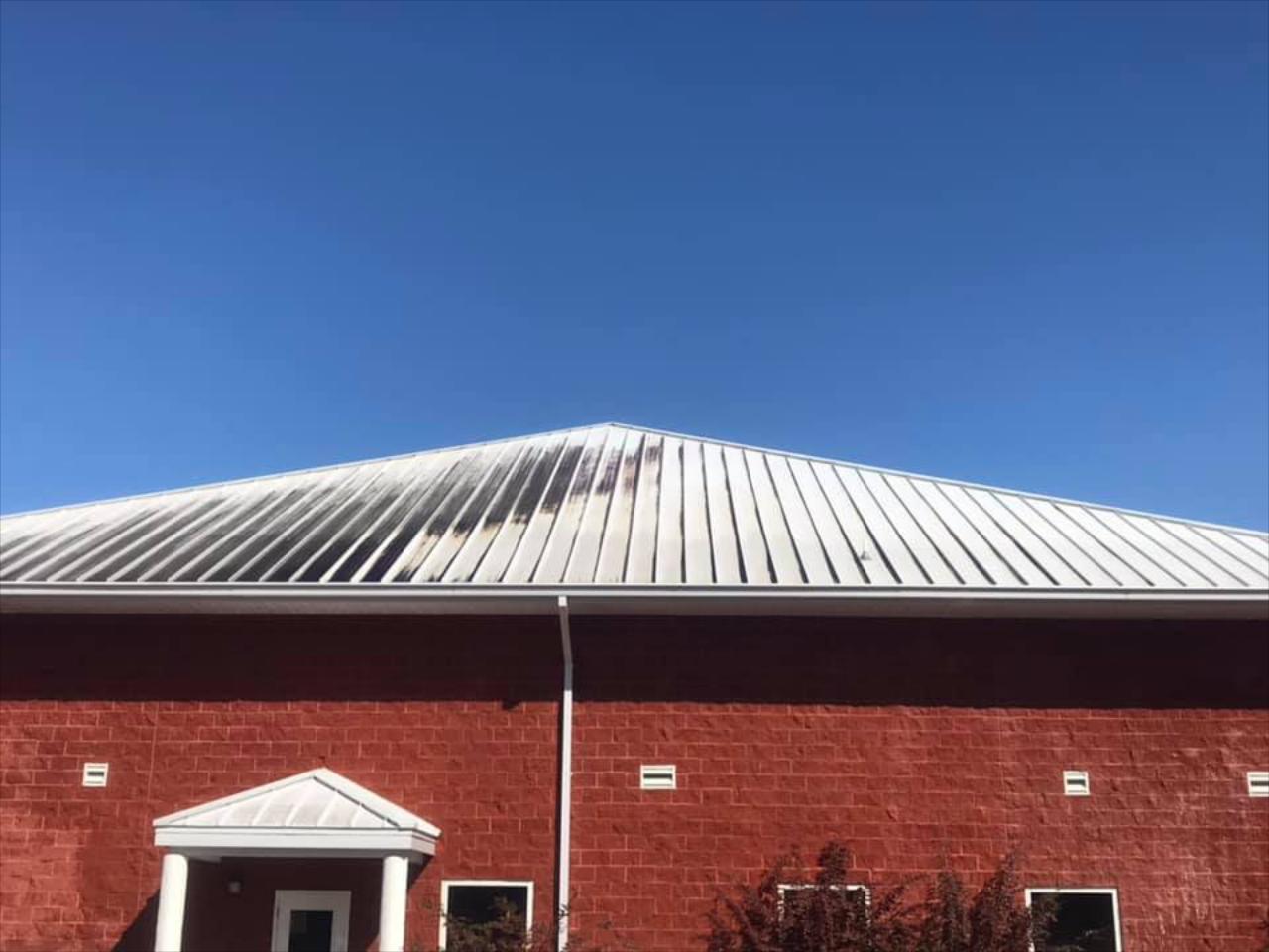 Metal Roof Soft Washing