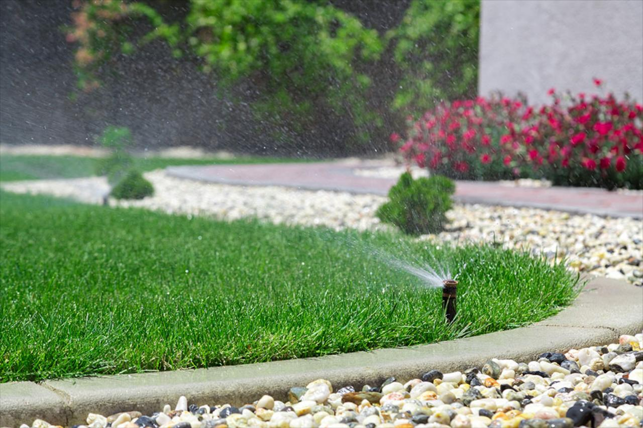 An irrigation system can help you put away the hose and spend more time enjoying your yard.