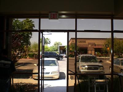 Commercial window tinting in Las Vegas can be a great investment for your business office.
