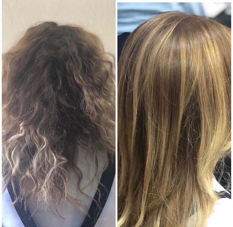 Hair Smoothing & Straightening