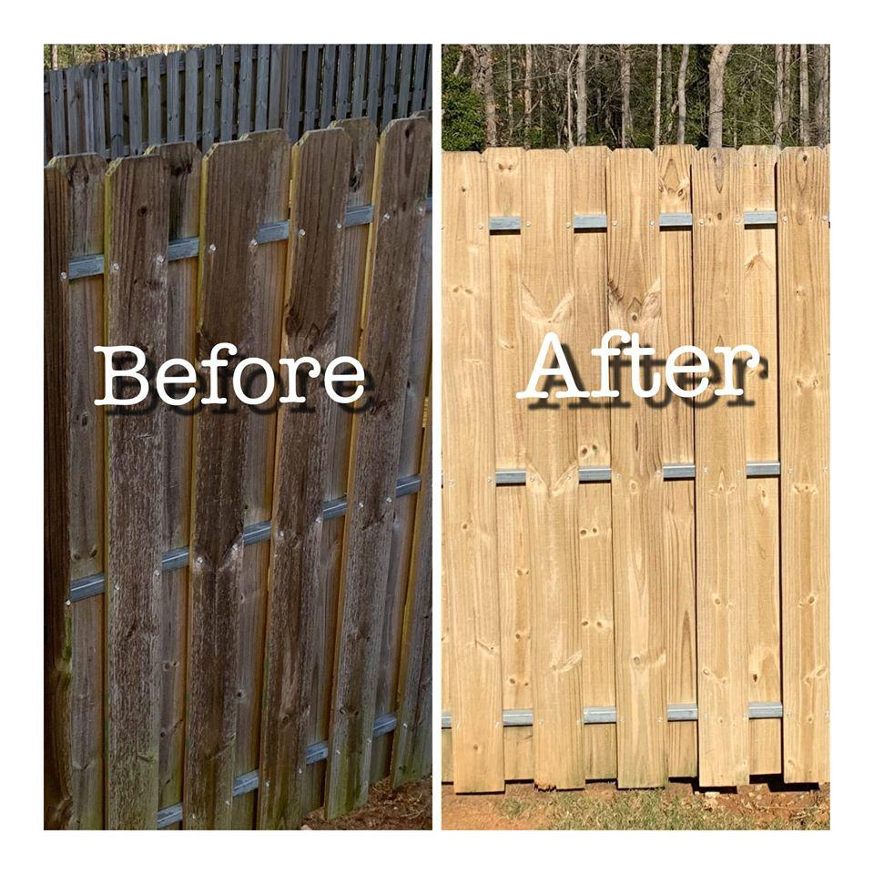 Wood Deck & Fence Restoration
