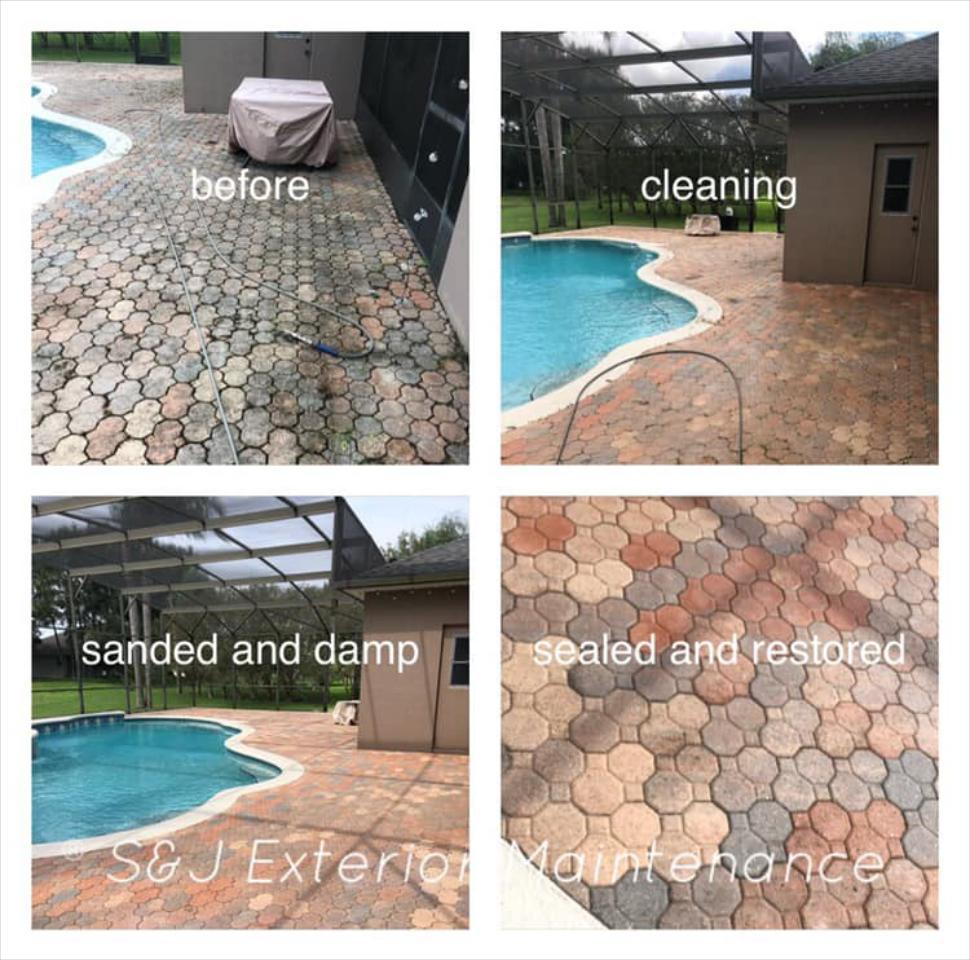 Paver & Concrete Restoration & Sealing