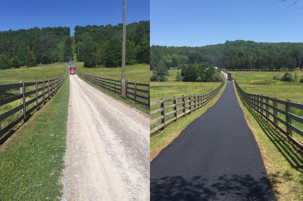 Driveway and Parking Lot Paving Services