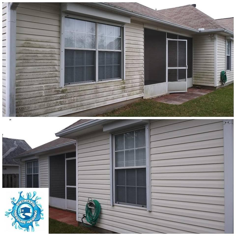 Read labels before applying and detergent or chemicals to your homes exterior. Test on an inconspicuous area first.