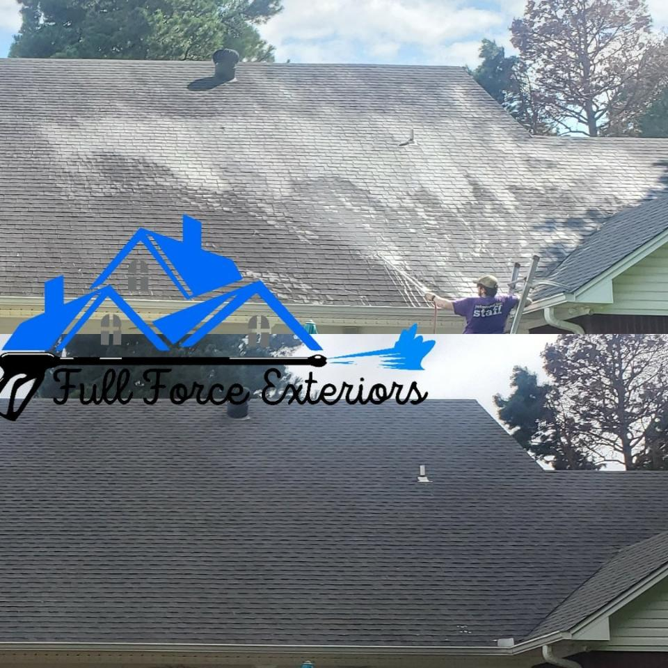 What is Roof Soft Washing?