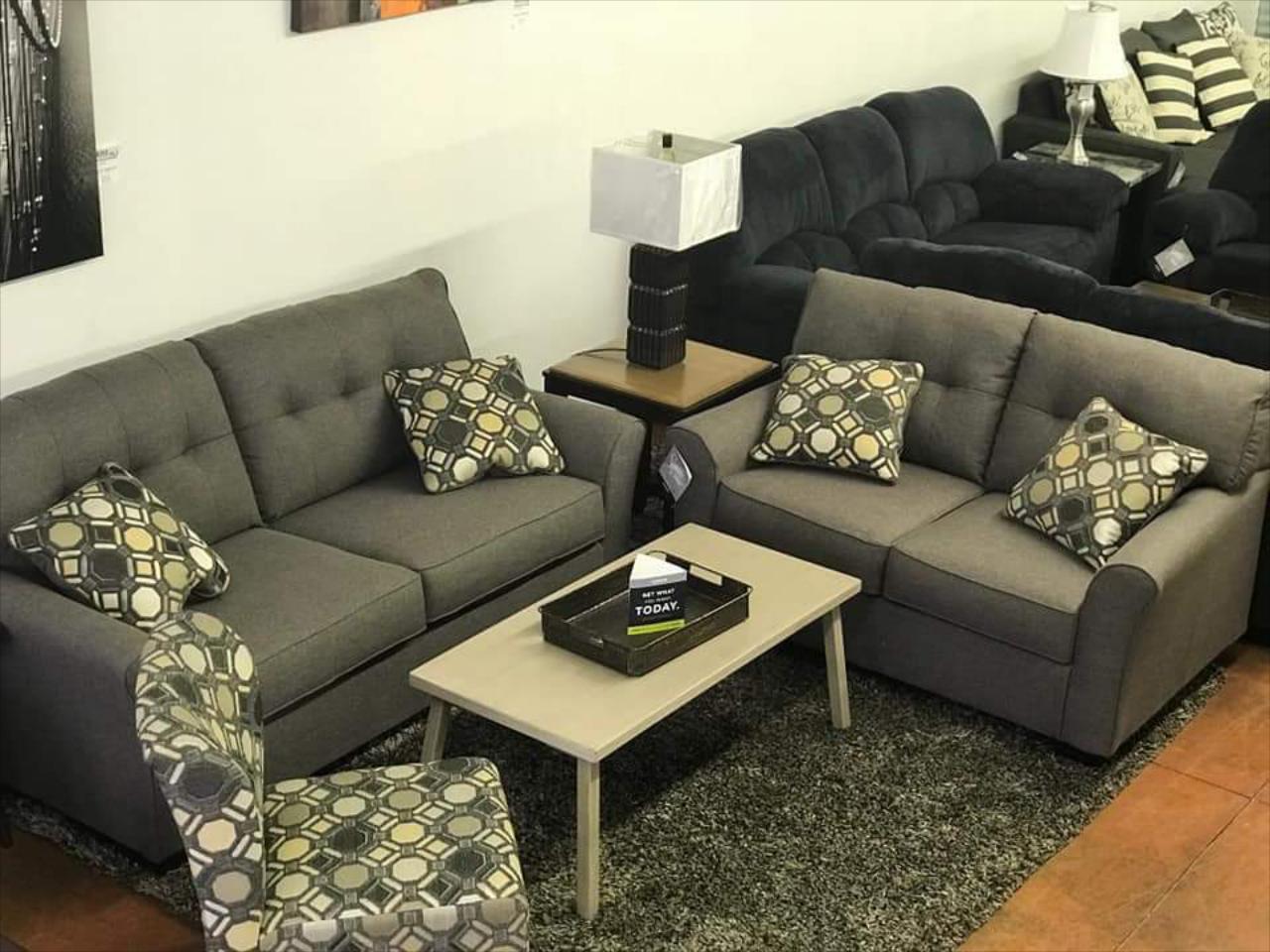 Tremendous Tibbee Sofa Loveseat Accent Chair Set Bralicious Painted Fabric Chair Ideas Braliciousco