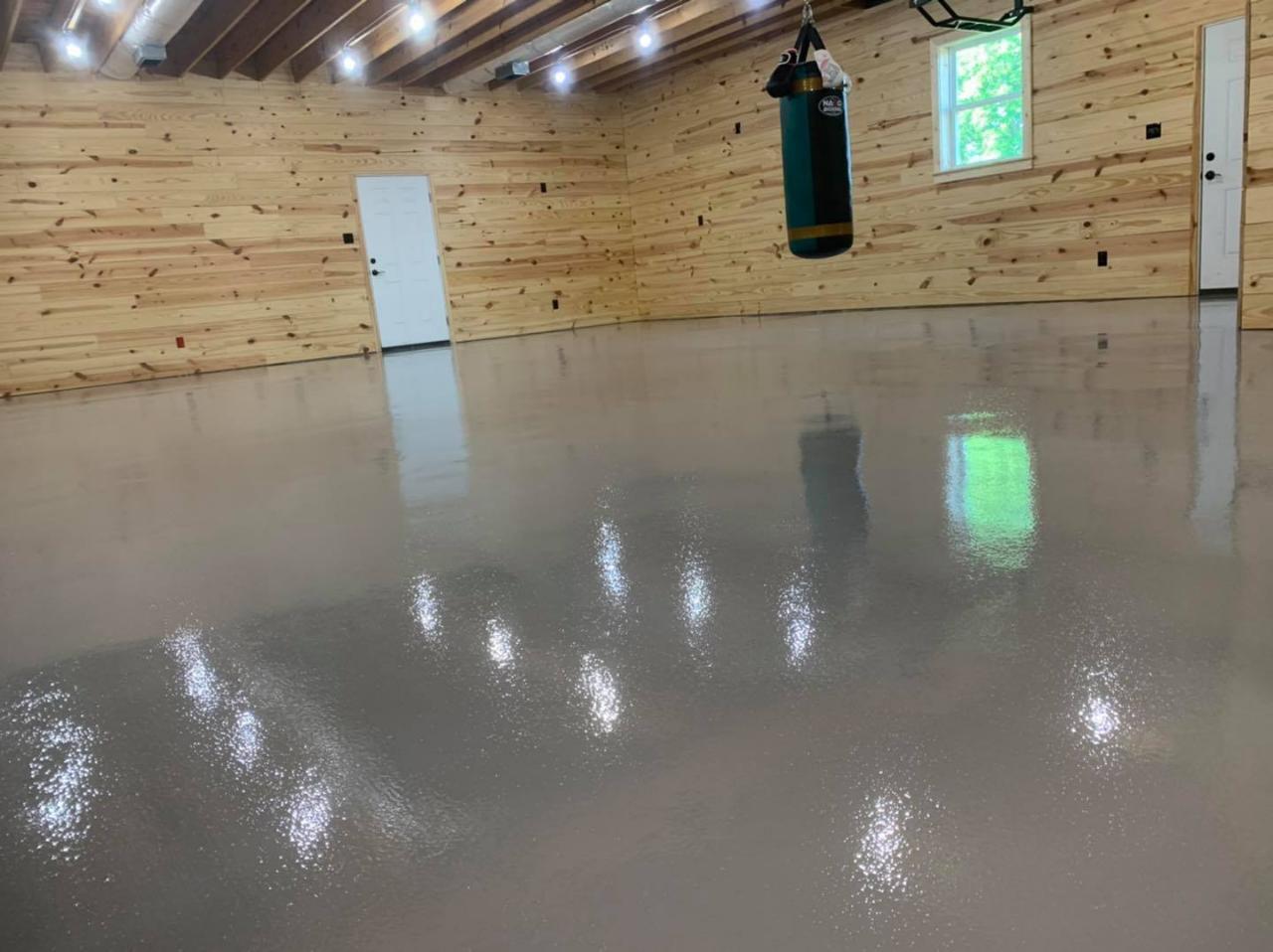 Solid Color Epoxy Coatings - Epoxy Garage Floors