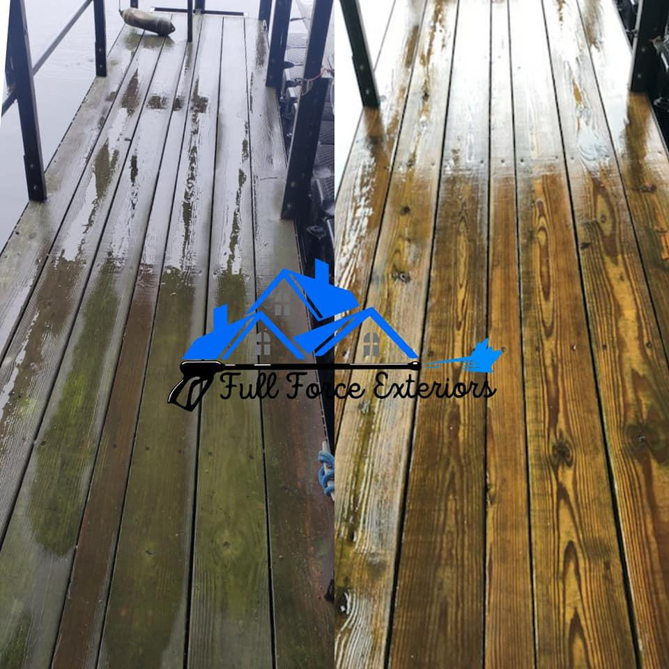 Docks need to be cleaned