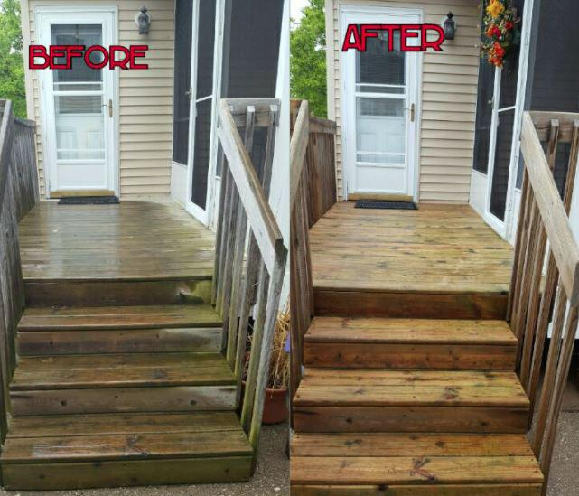 DECK, PATIO, FENCE, TENNIS COURT AND POOL DECK CLEANING