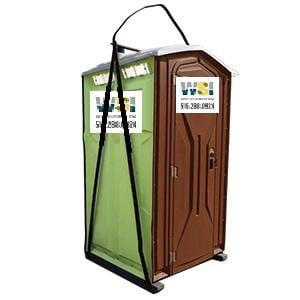 Hook / Sling Unit Portable Restroom