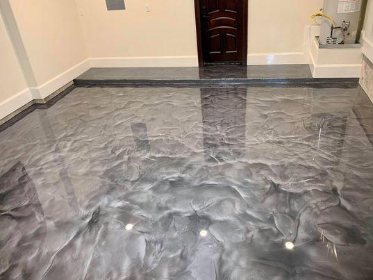 Metallic epoxy floors - Epoxy Floors