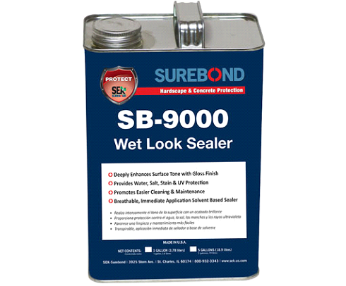 SB-9000 Wet Look Sealer