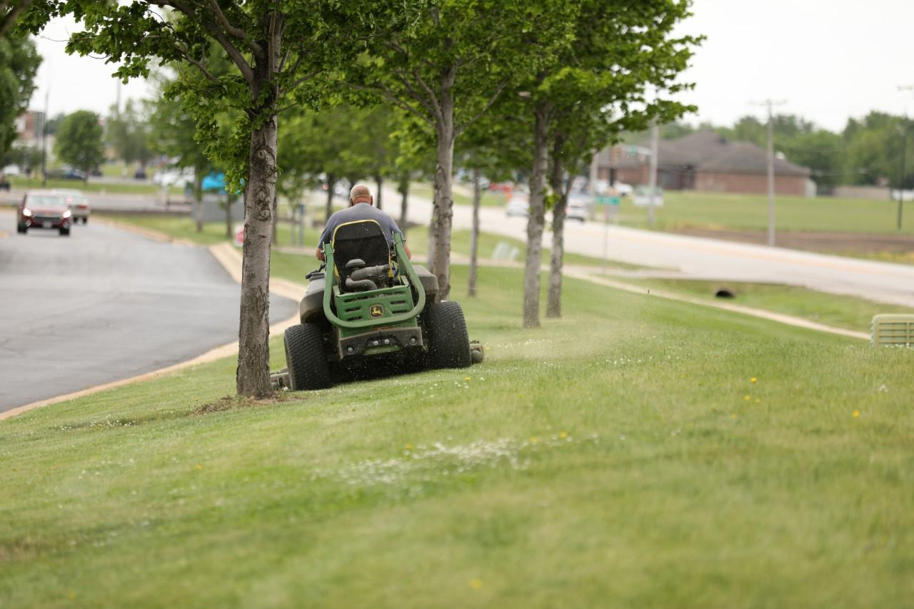 WEEKLY LAWN MOWING AND MAINTENANCE