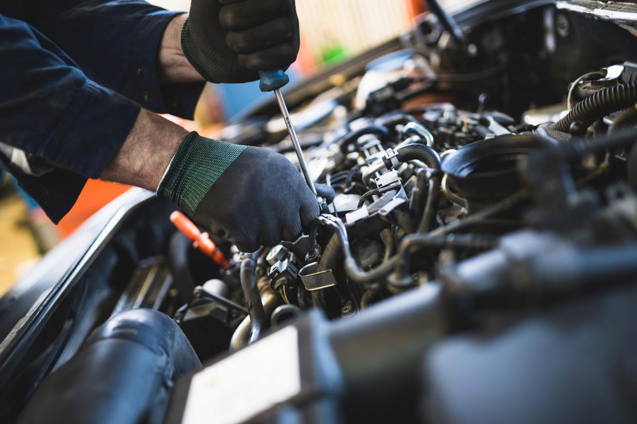 Scheduled Vehicle Maintenance