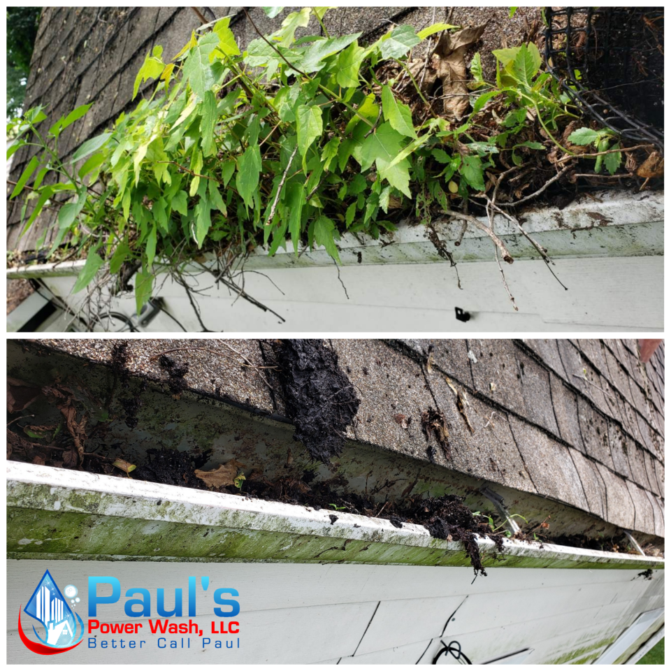 Professional Gutter Cleaning and Brightening Services in the Dayton, Columbus, and the surrounding areas.