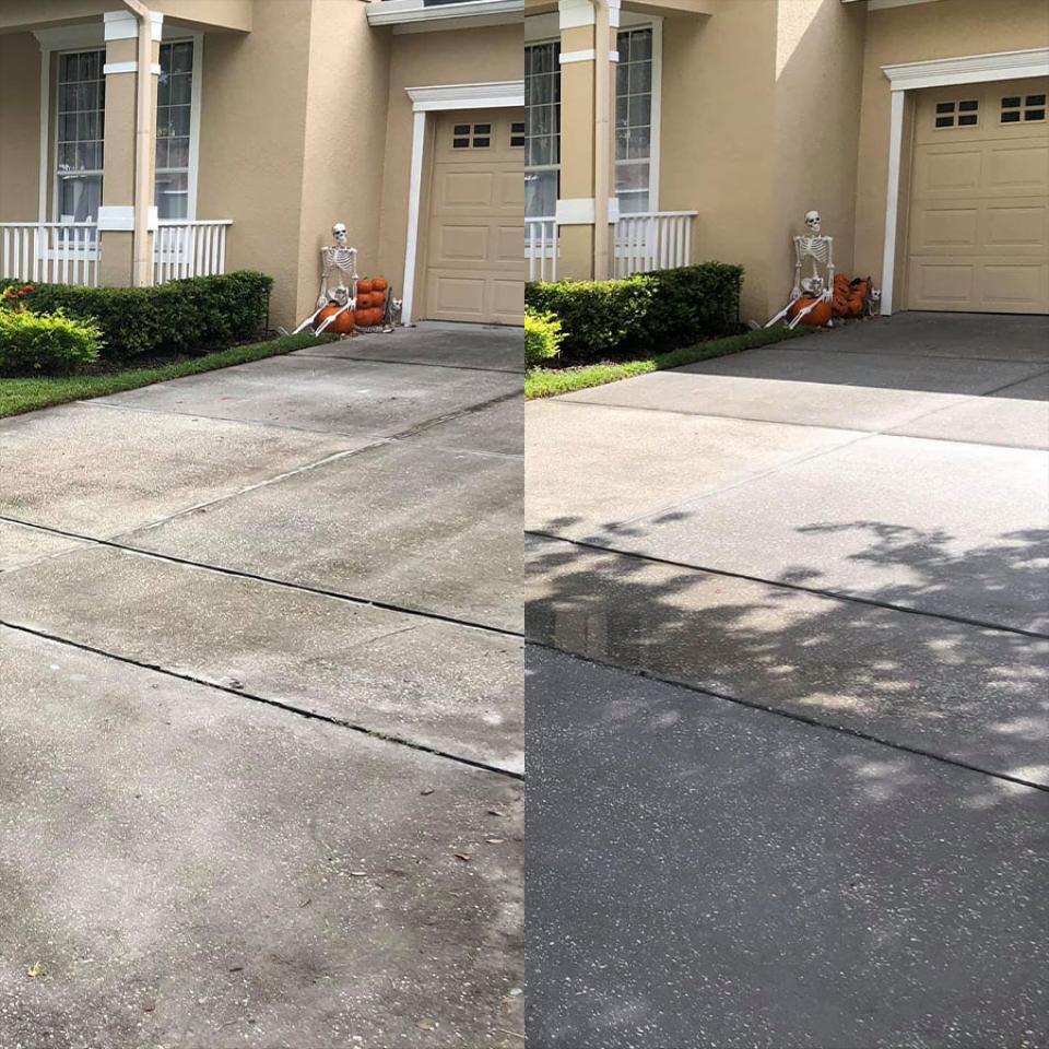Driveway - Sidwalk - Walkway & Curbing