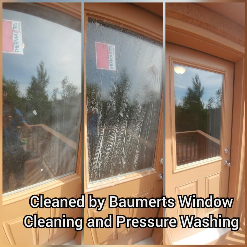 We are experts and interior and exterior window cleaning.