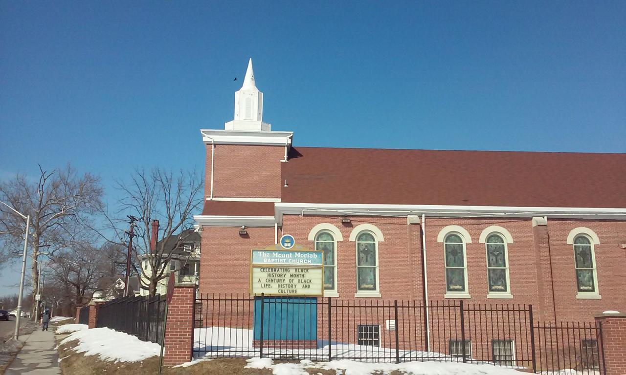 Featured Chruch: Mt. Moria Baptist Church