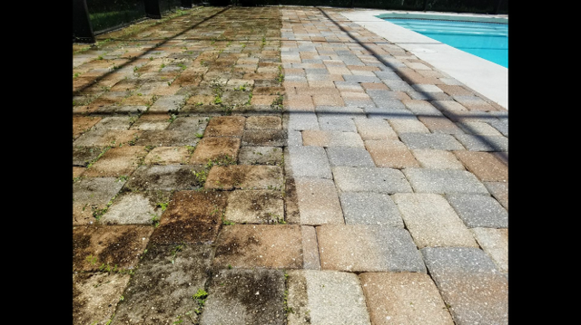 Driveway Cleaning, Concrete Cleaning, and Surface Cleaning