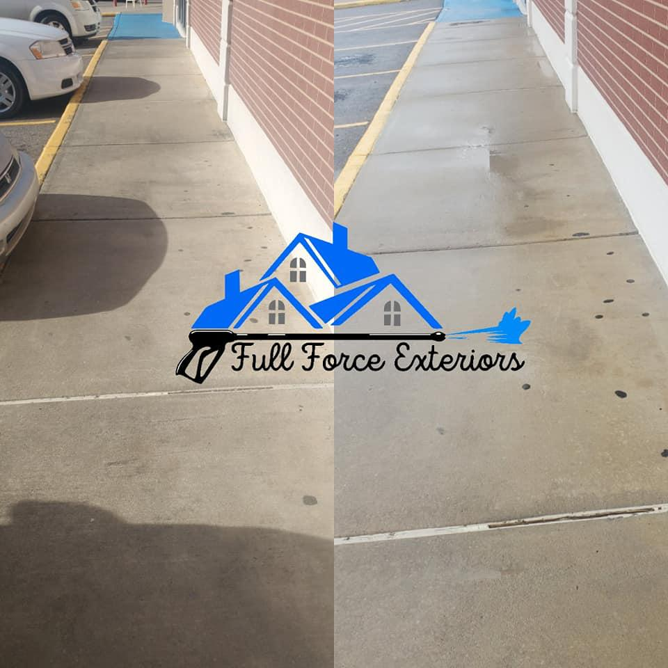 Clean Dirt and Grime from Pavement, Concrete, and other Surfaces