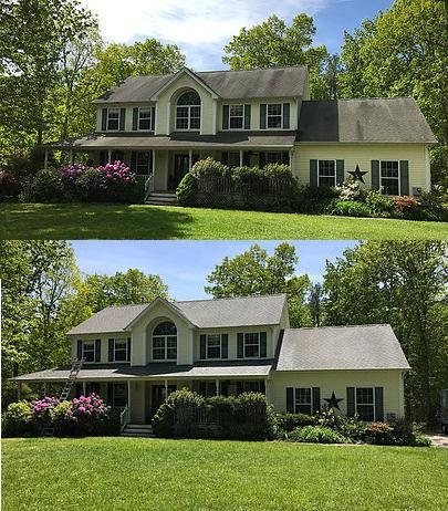 Pressure Washing In Jackson NJ - House Washing & Roof Cleaning