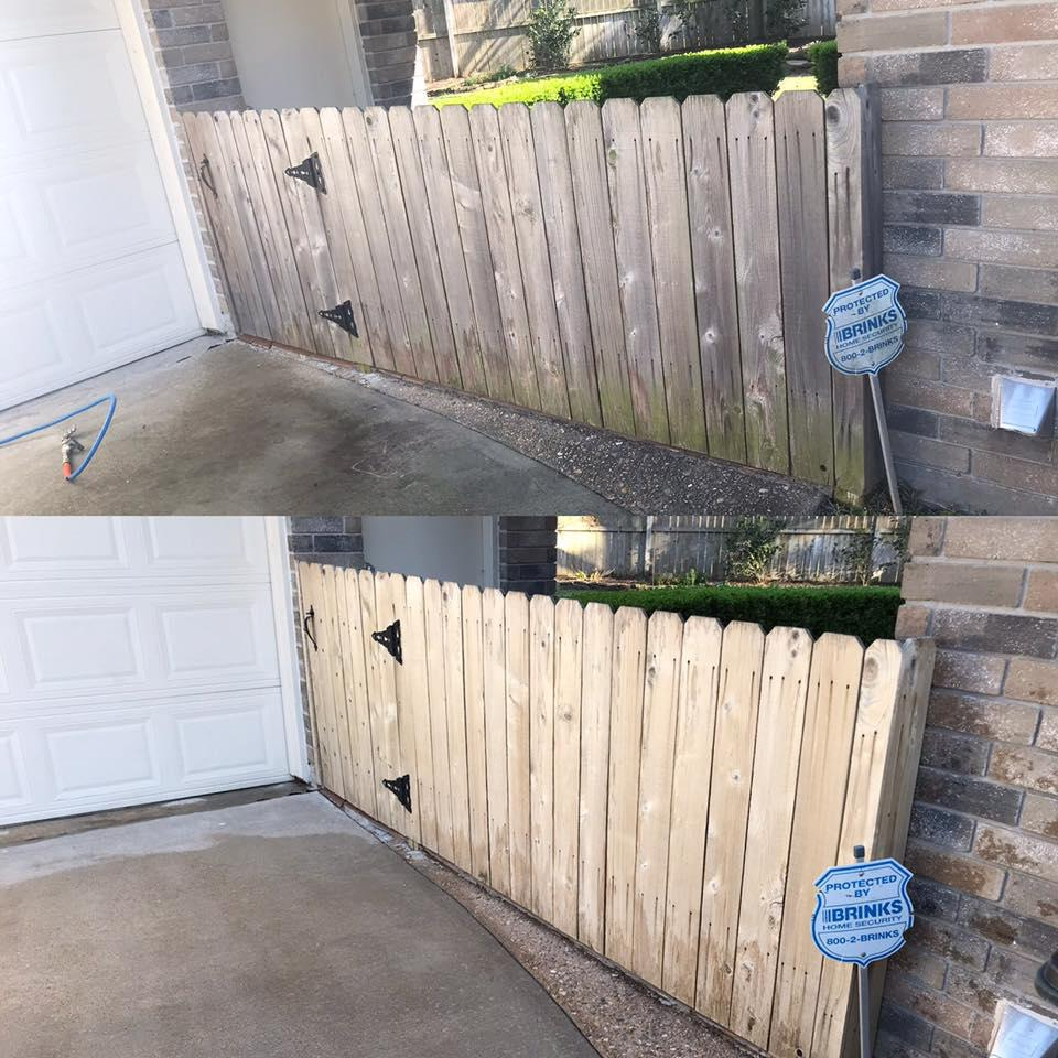 Pressure Washing In Hockley Tx Deck And Fence Cleaning