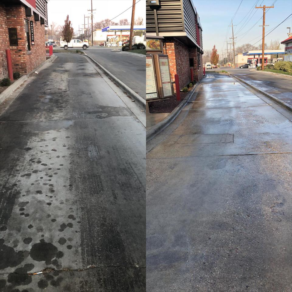 Commercial Pressure Washing – Boise, ID – Exterior Cleaning
