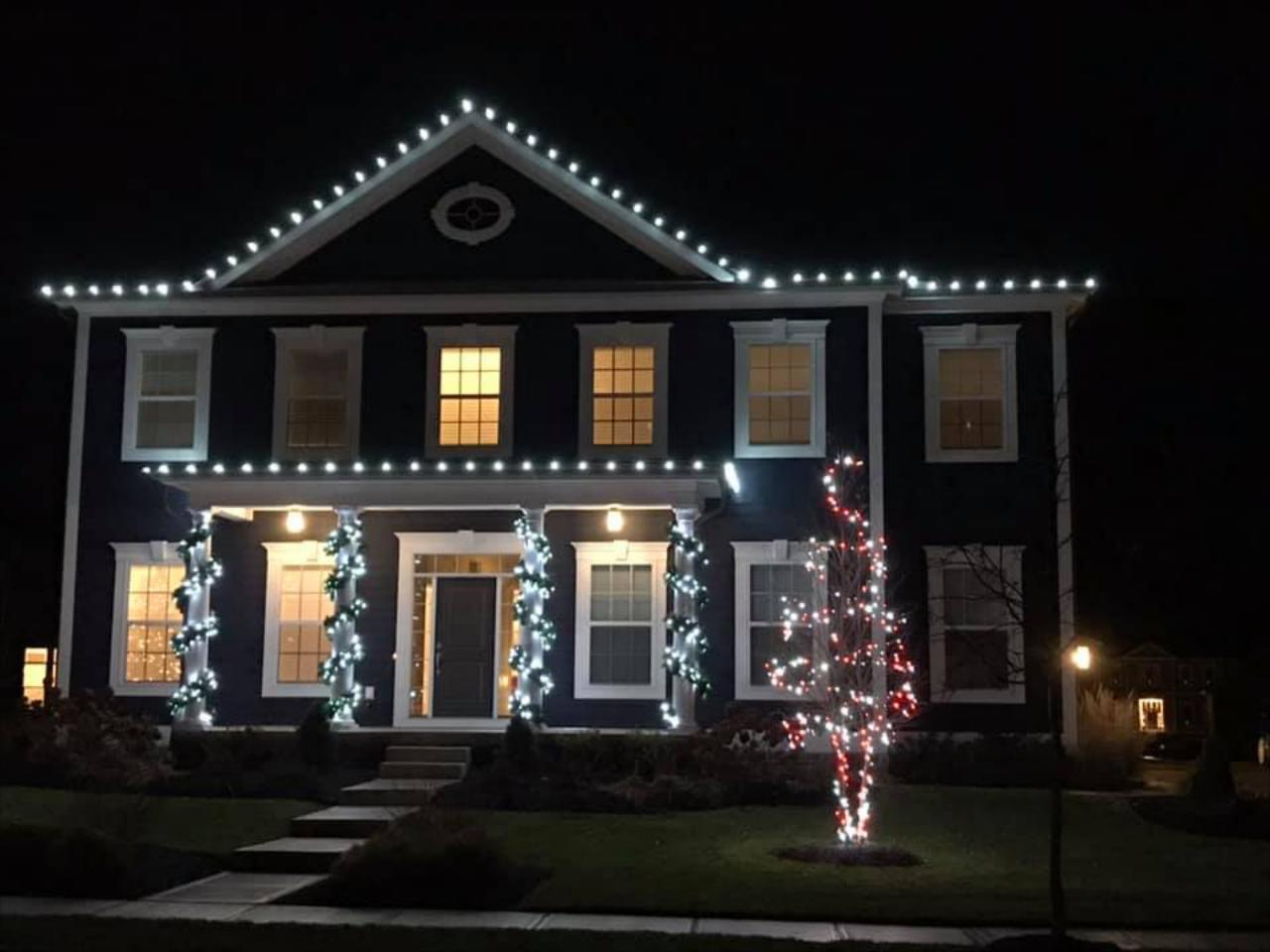 Complete Outdoor Holiday Lighting Services