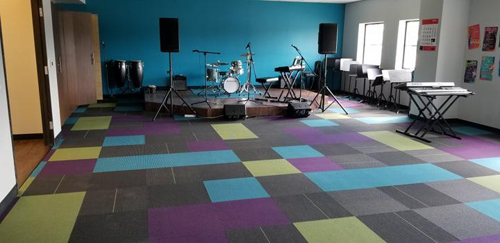 Vinyl, Tile, Carpet