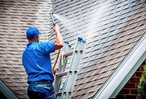 Soft-Wash House Washing & Roof Cleaning