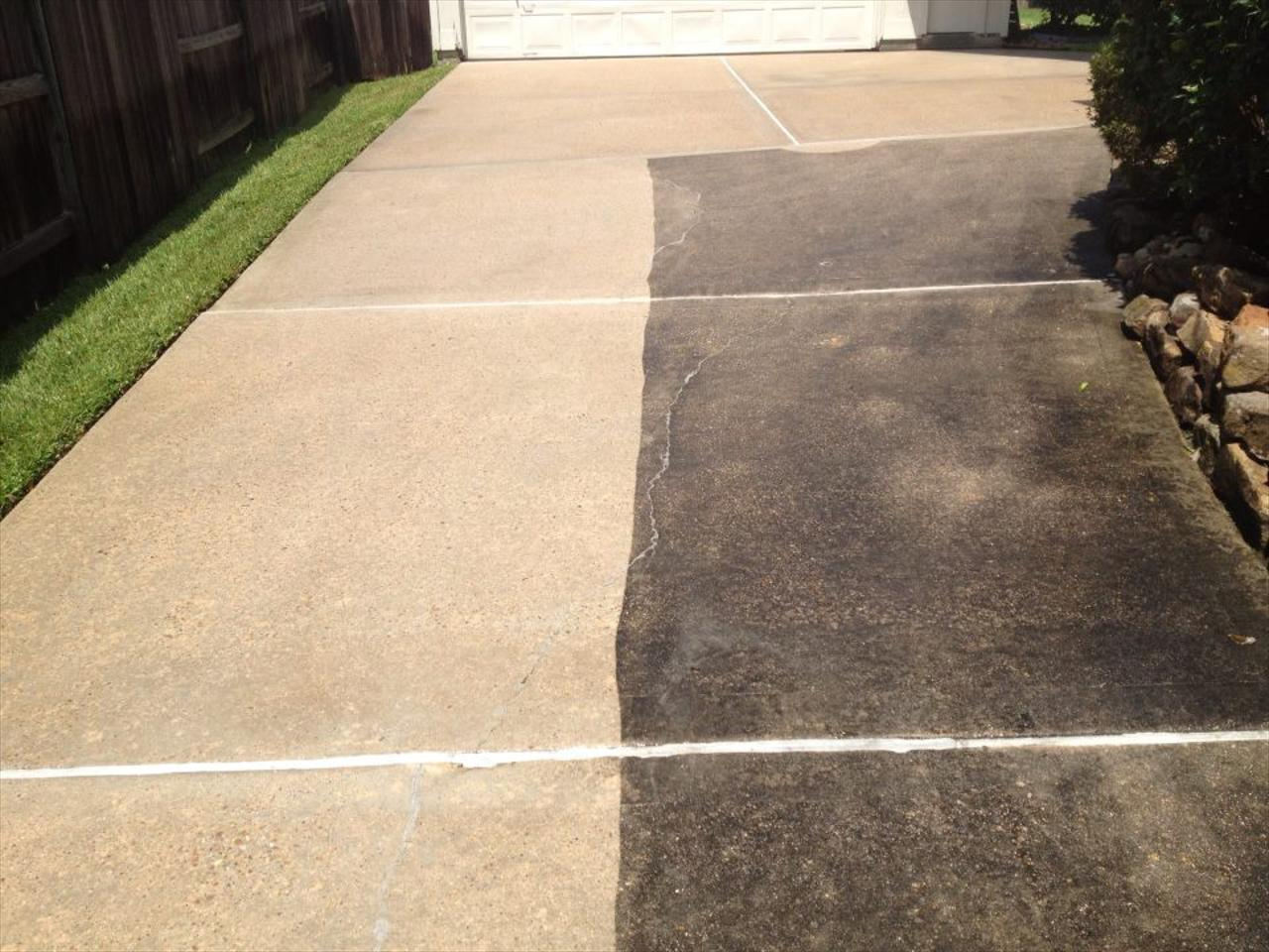 Driveway and Concrete Cleaning