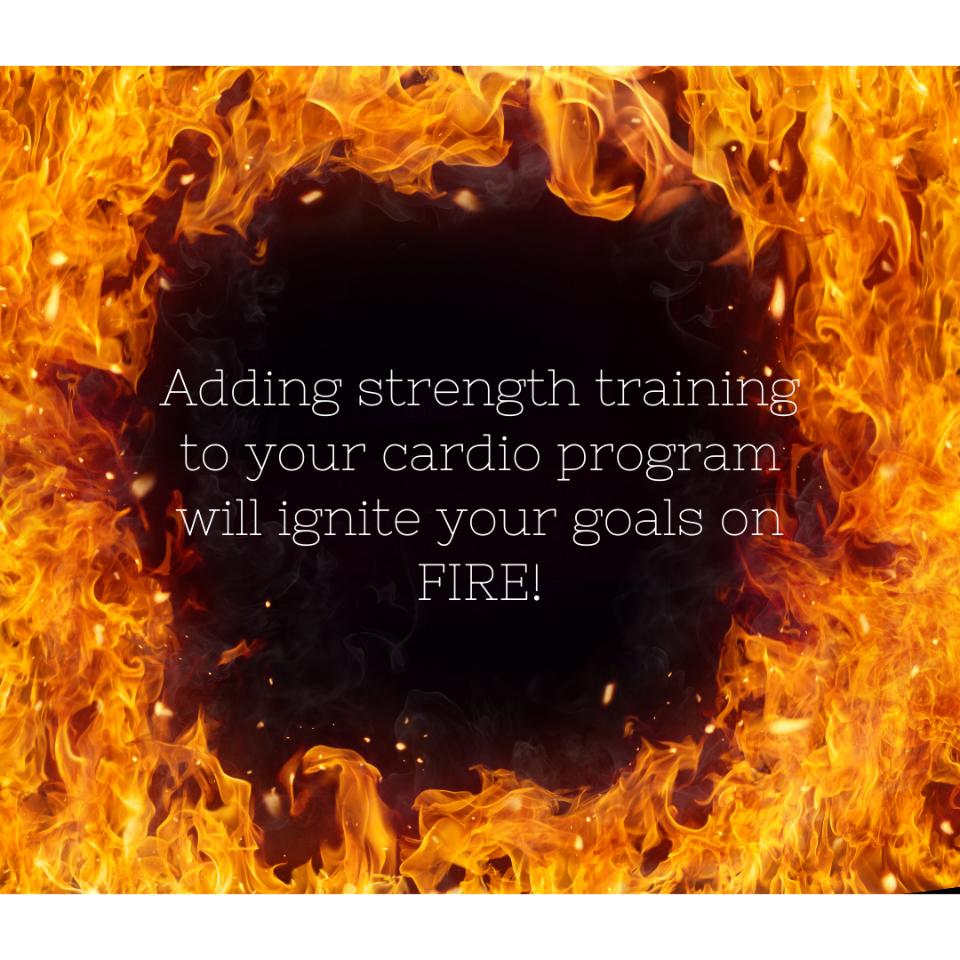 Strengh Training + Cardio = Success!