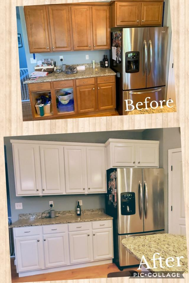 Kitchen and Bathroom Cabinet Painting