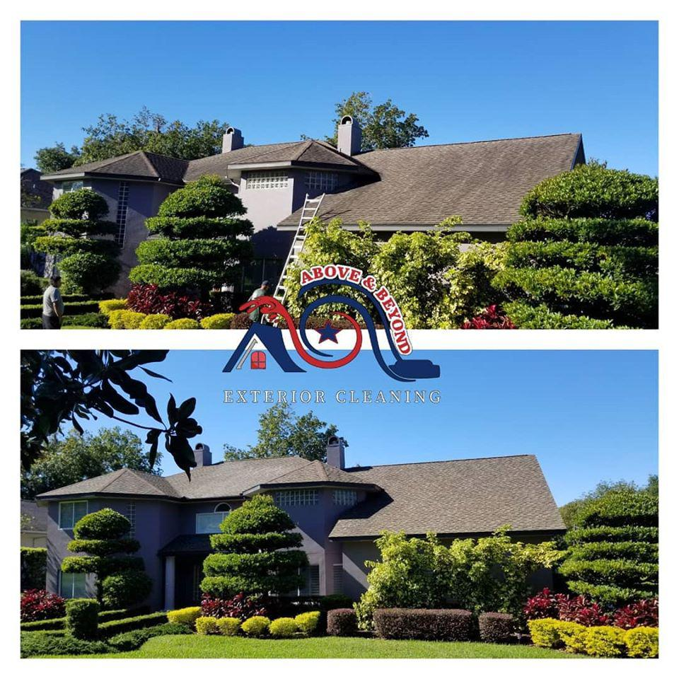 We use Soft-Wash Cleaning to Safely Clean Siding and Roofs on Homes Throughout Polk Countyand the Surrounding Areas