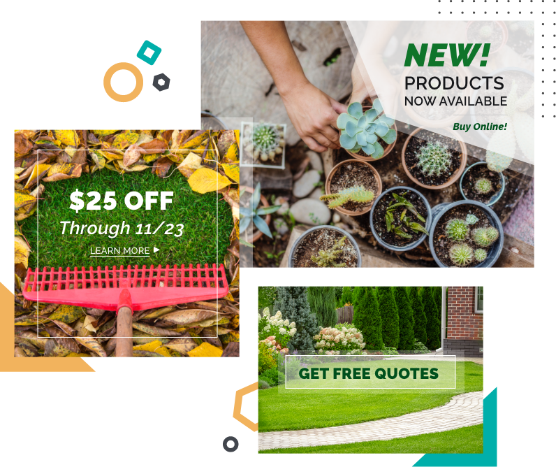lawn care promotions