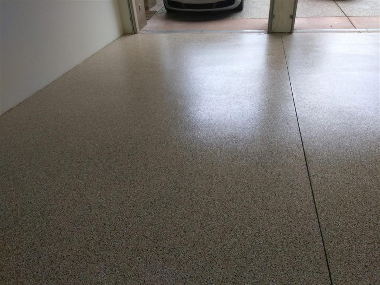 Epoxy Chip Floor Installation Process | Palm Springs