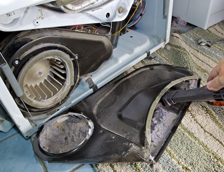Reduce the risk of a home fire with regularly scheduled dryer vent clenaing services.