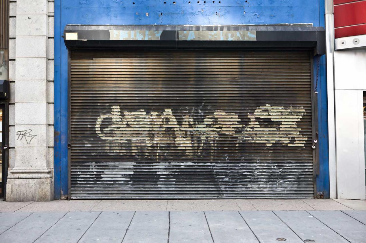 Gum, Grafitti, and Rust Removal