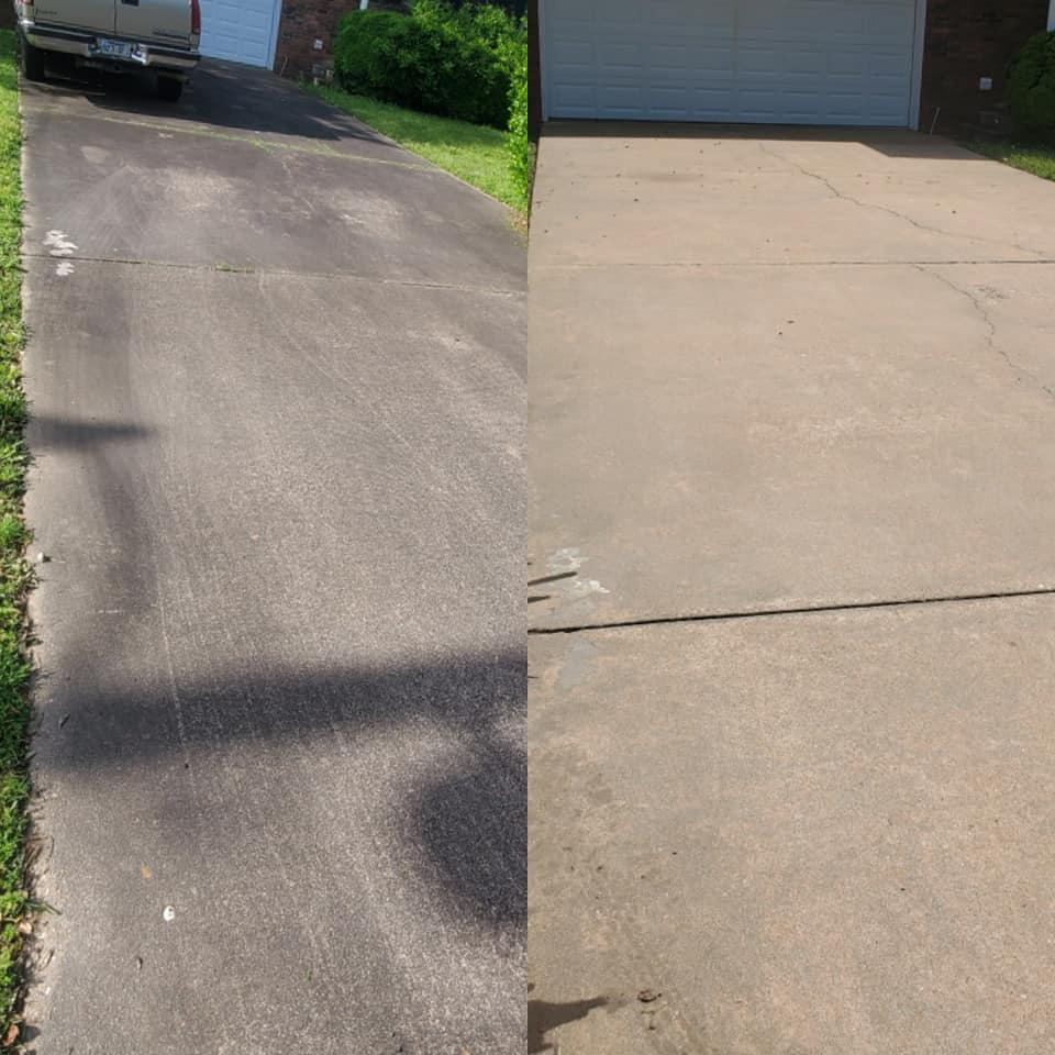 Sidewalk & Surface Cleaning