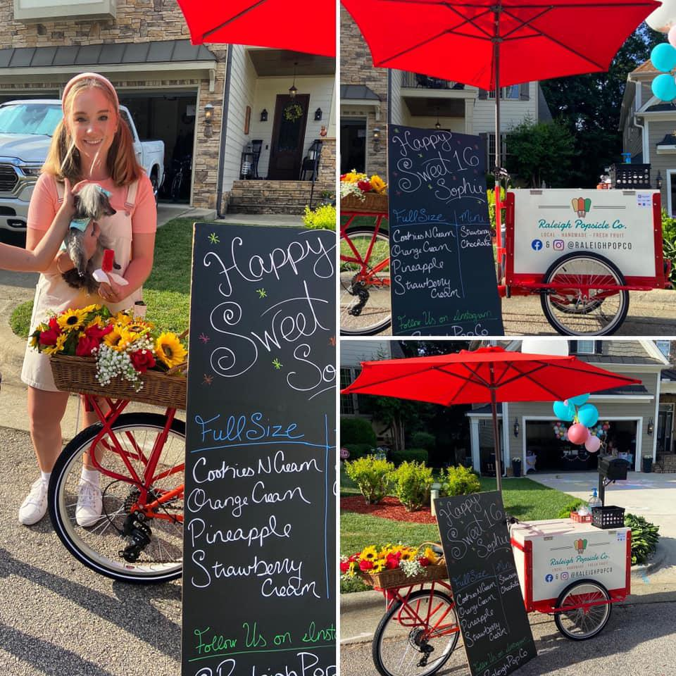 Fresh Fruit Popsicles Throughout Raleigh, NC