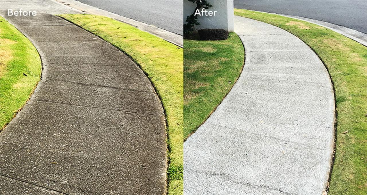 START WITH SIDEWALK AND DRIVEWAY CLEANING IN MT. HOLLY, BROWN MILLS, BURLINGTON COUNTY & OCEAN COUNTY, NJ
