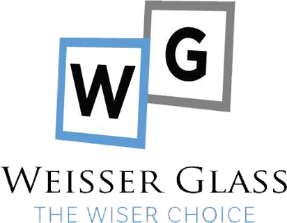 Weisser Glass